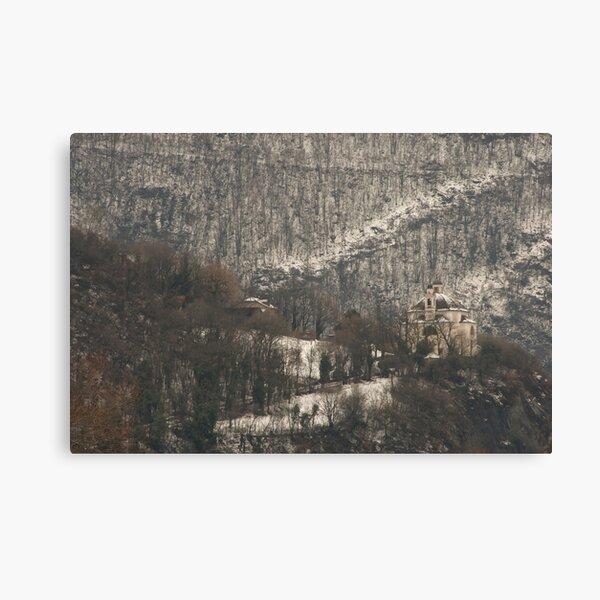 Snow scene, Bolzano/Bozen, Italy  Canvas Print