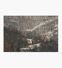 Snow scene, Bolzano/Bozen, Italy  Photographic Print