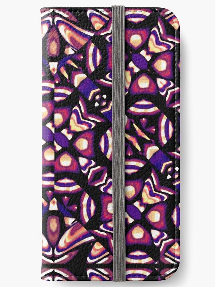 Colorful Tribal Pattern Print by DFLC Prints