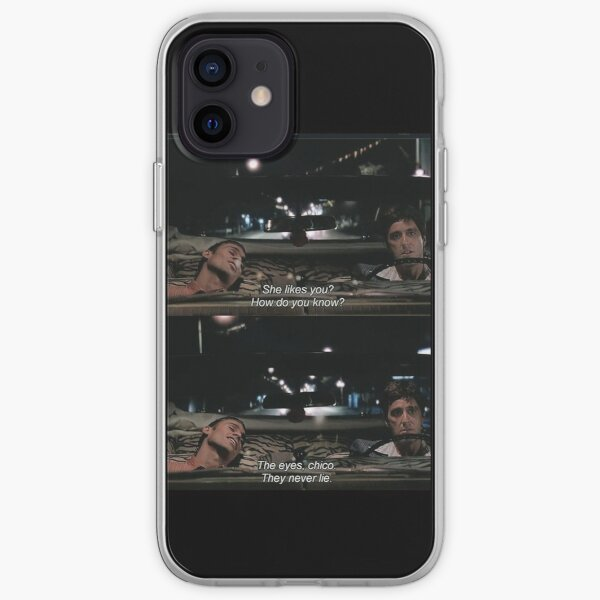 The Eyes, Chico. They never lie. iPhone Soft Case