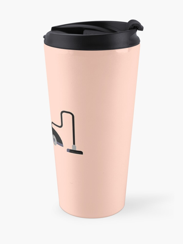 Alternate view of Haters Gonna Clean Funny Vacuum Cleaning Lady With Attitude Gifts Travel Mug