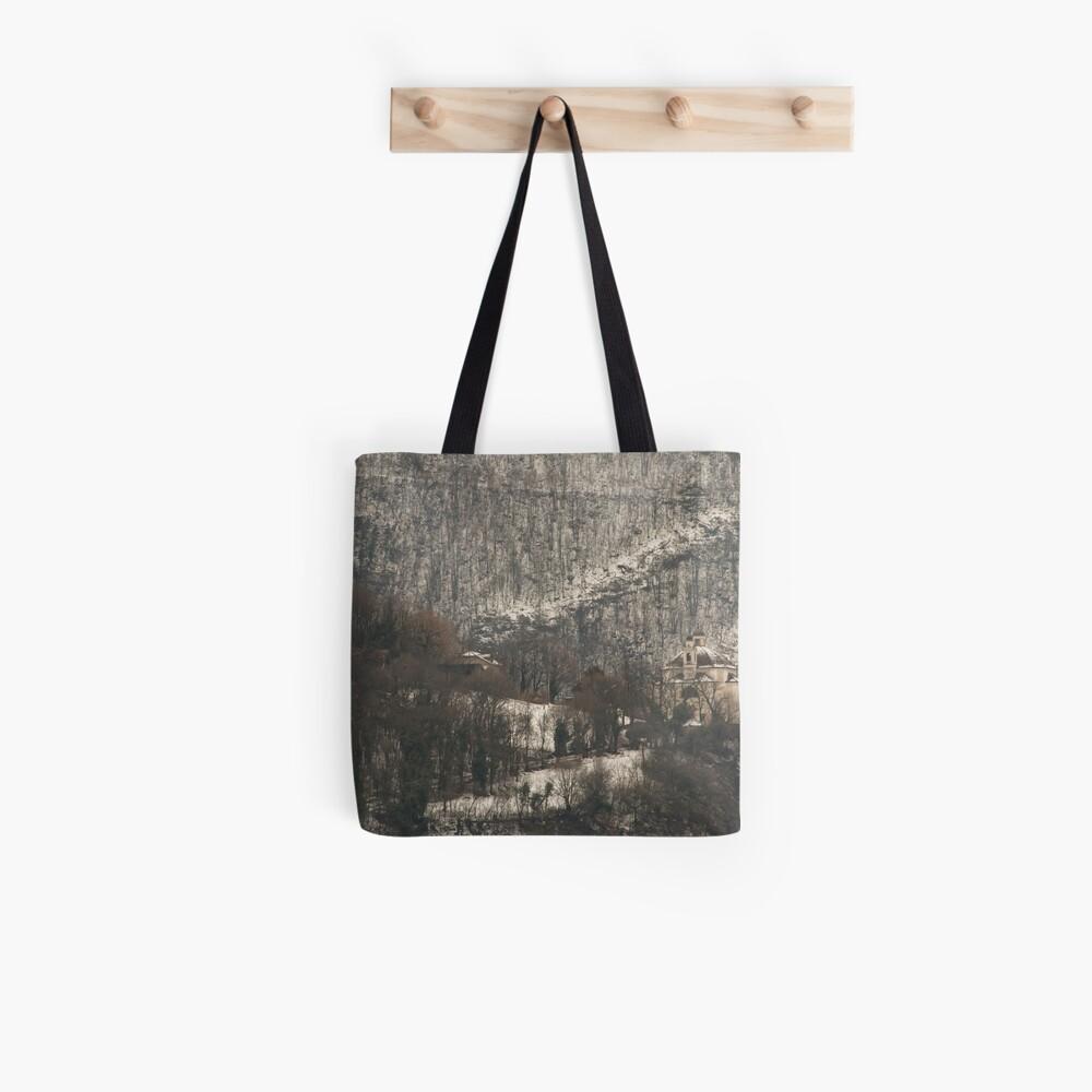 Snow scene, Bolzano/Bozen, Italy  Tote Bag