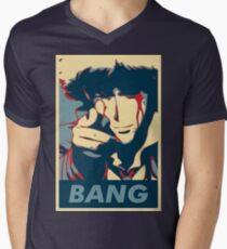 Bang - Spike Spiegel Men's V-Neck T-Shirt