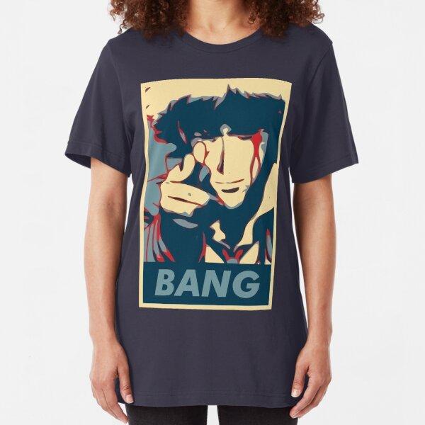 Bang - Spike Spiegel Slim Fit T-Shirt
