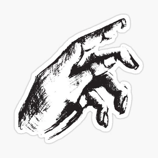 Hand Series 1 Sticker