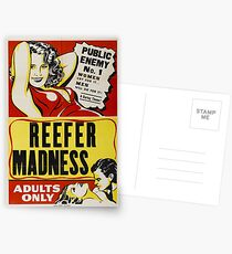 Reefer Madness Postcards