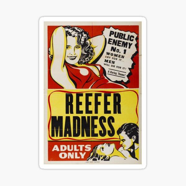 Reefer Madness Sticker
