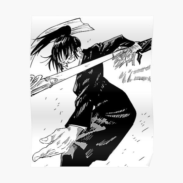 Maki   Jujutsu Kaisen Poster