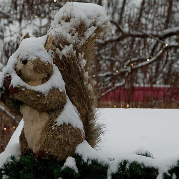 Snow covered animal figure, Christmas Market, Bolzano/Bozen, Italy by leemcintyre