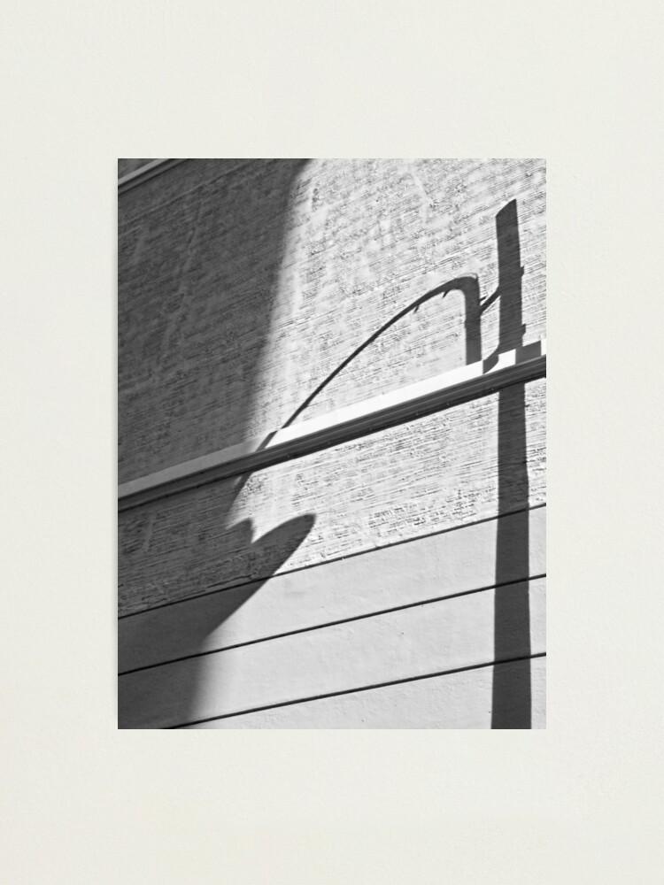 Alternate view of Shadow Lamp, Bolzano/Bozen, Italy Photographic Print