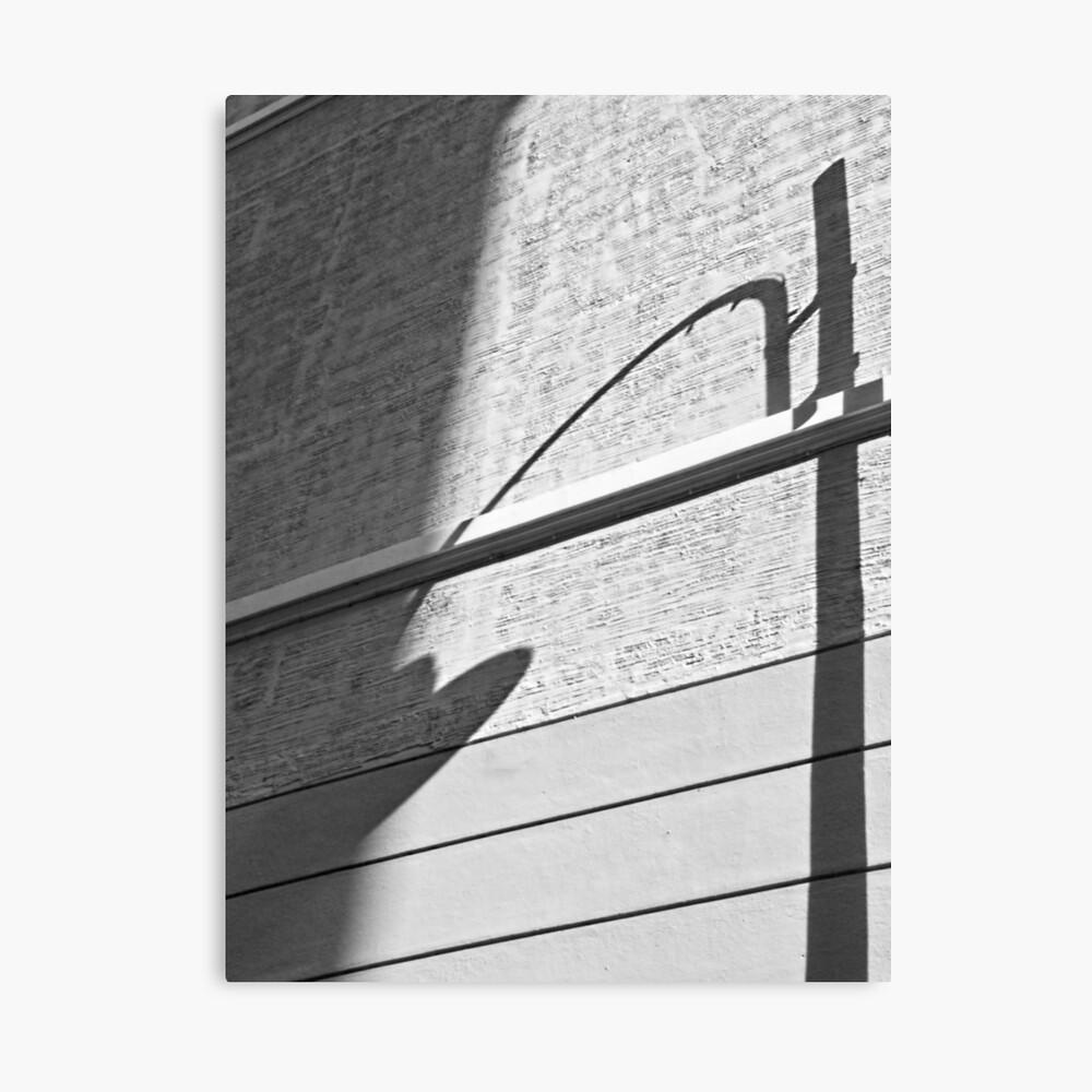 Shadow Lamp, Bolzano/Bozen, Italy Canvas Print