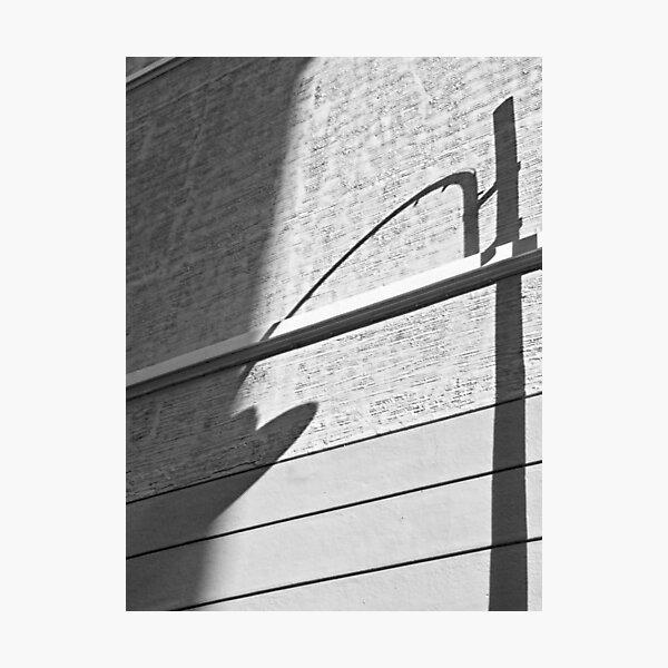 Shadow Lamp, Bolzano/Bozen, Italy Photographic Print