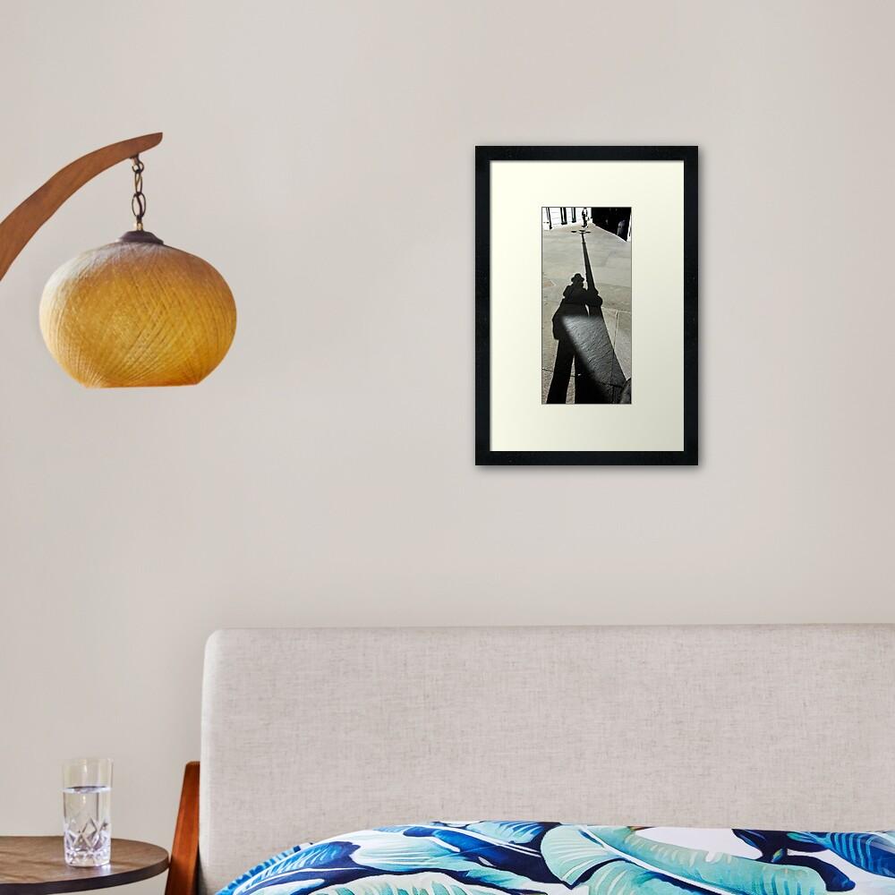 Alien Attack,  Bolzano/Bozen, Italy Framed Art Print