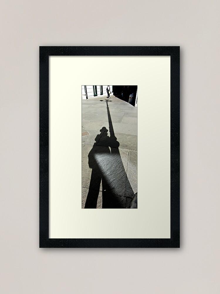 Alternate view of Alien Attack,  Bolzano/Bozen, Italy Framed Art Print