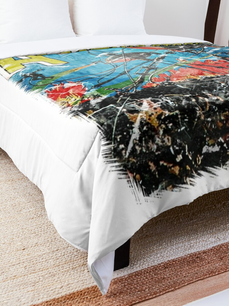 Alternate view of Amazing Stories - War of The Worlds Comforter