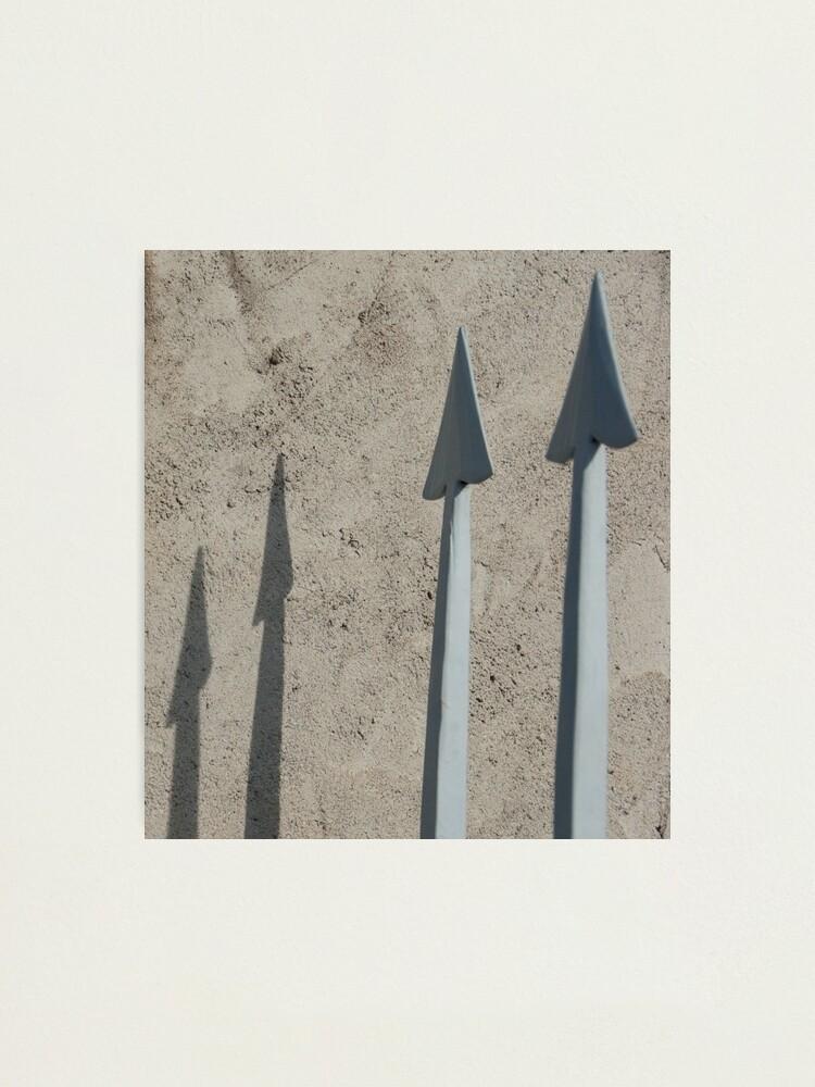 Alternate view of Pointed Shadows, Bolzano/Bozen, Italy Photographic Print