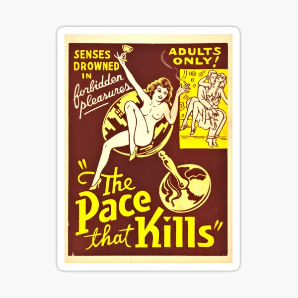 The Pace That Kills (1935) Sticker