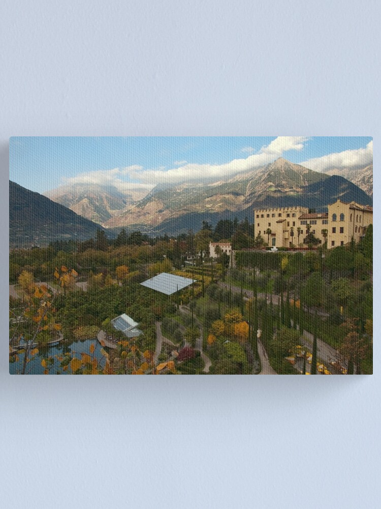 Alternate view of Schloss Trauttmansdorff, Merano/Meran, Italy Canvas Print