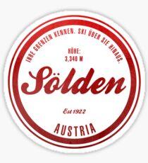 Sölden Austria Ski Resort Sticker