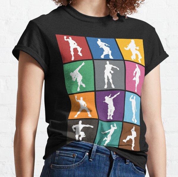Battle Royale Victory Dance Rainbow lattice Funny Classic T-Shirt