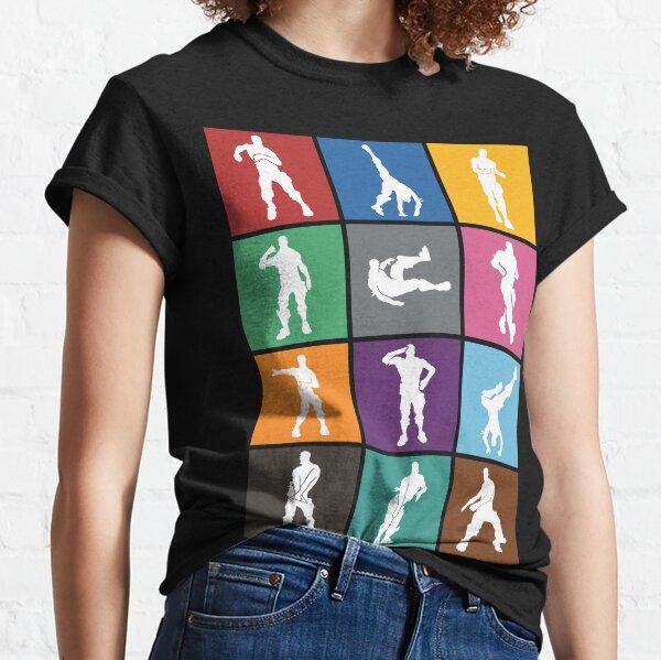 Battle Royale Victory Dance Rainbow lattice Classic T-Shirt