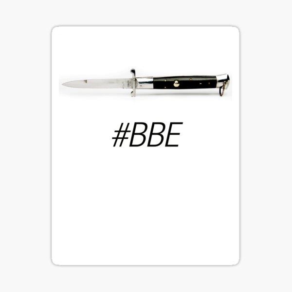 #BBE Sticker