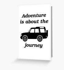 Discovery - The Journey Greeting Card