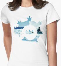King's Rock - Gyarados Womens Fitted T-Shirt