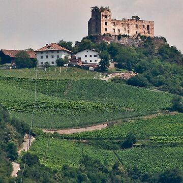Schloss (Castle) Rafenstein ruins, Bolzano/Bozen, Italy by leemcintyre