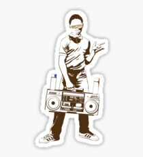 Hip Hop Guy Sticker