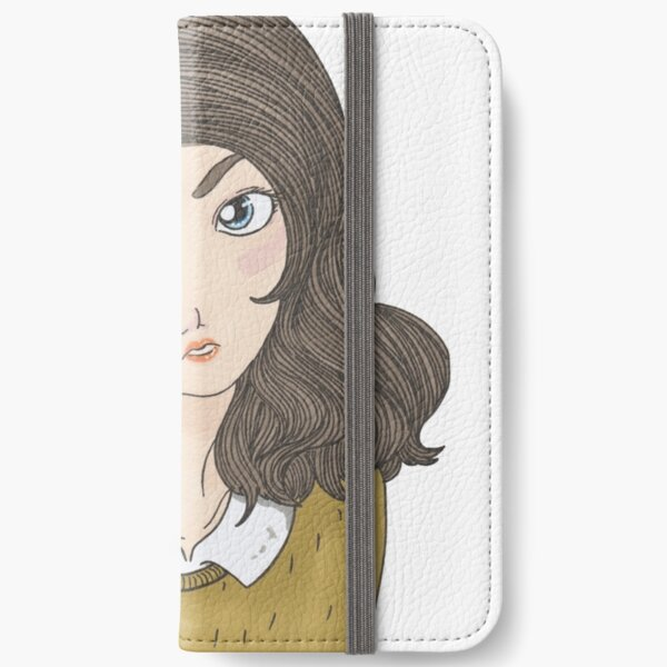 Pleading Eyes iPhone Flip-Case