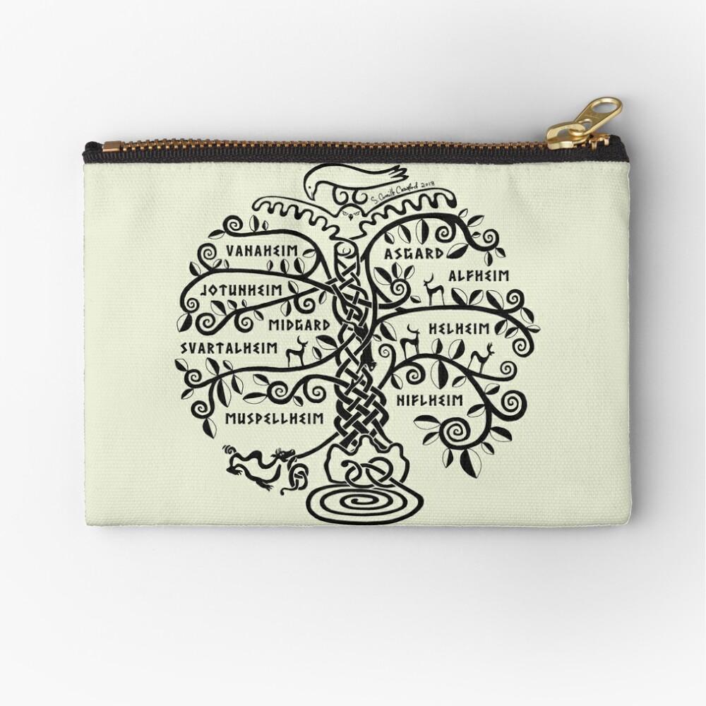 The World Tree - Yggdrasil Zipper Pouch