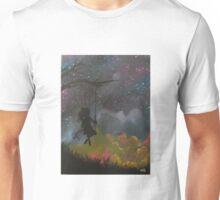 girl on swing  Unisex T-Shirt