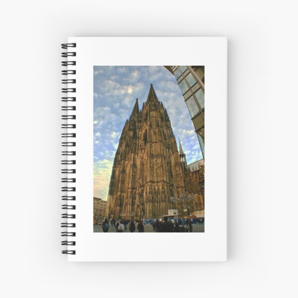 Cologne cathedrale, germany Spiralblock