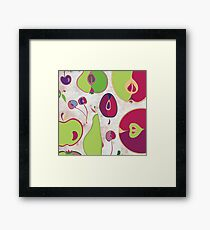 Fruit Collection Framed Print