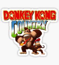 Donkey Kong Country Sticker