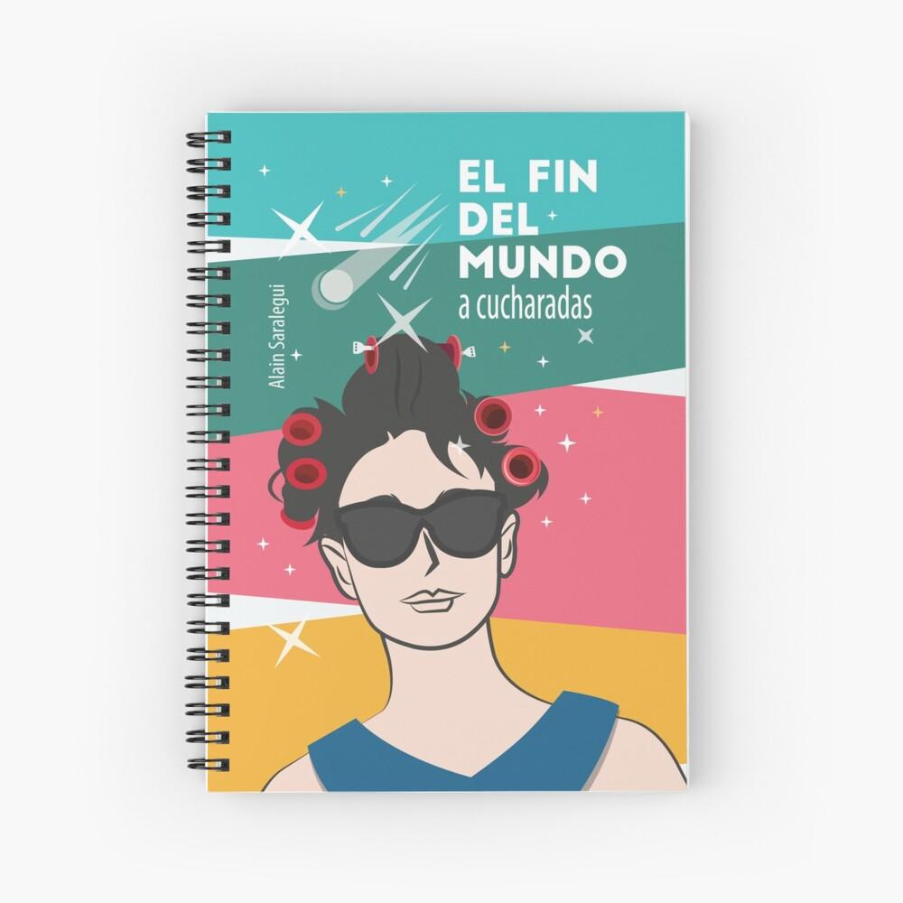 El fin del mundo a cucharadas (tonos pastel) Cuaderno de espiral