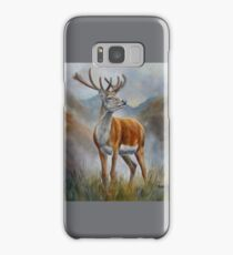 Prince Of The Glen (red stag) Samsung Galaxy Case/Skin