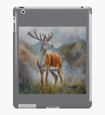 Prince Of The Glen (red stag) iPad Case/Skin