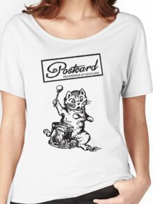 Postcard Records T shirt Women's Relaxed Fit T-Shirt