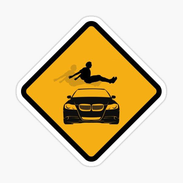 ⚠️⚠️ Parkour warning sign ⚠️⚠️ Sticker