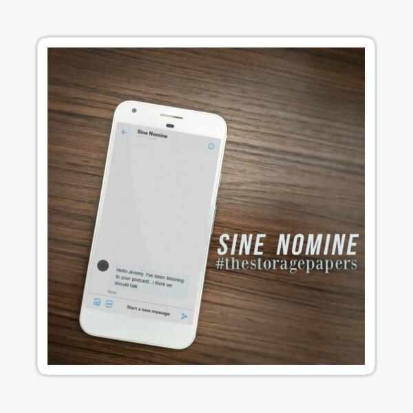 Sine Nomine Sticker