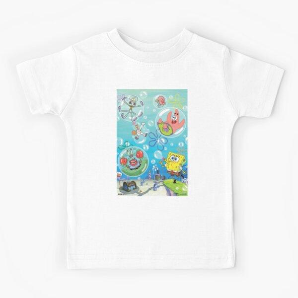 bubbles of bikini bottom Kids T-Shirt