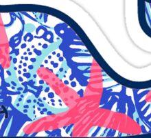 Whale Blue Sticker