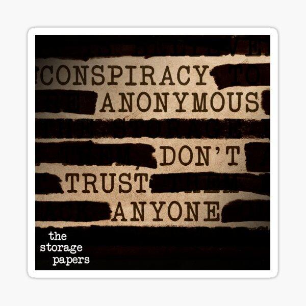 Conspiracy Anonymous Sticker