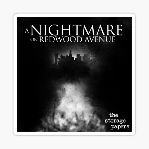 A Nightmare on Redwood Ave Sticker