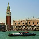 Campanile San Marco and Doge's Palace, Venice by RedHillDigital