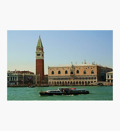 Campanile San Marco and Doge's Palace, Venice Photographic Print