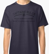 Captains Rules Classic T-Shirt