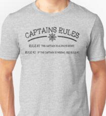 Captains Rules T-Shirt